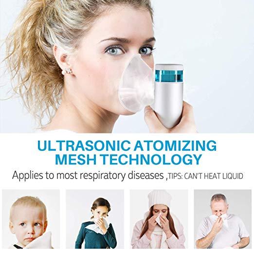 CISNO Handheld Ultrasonic Cool Mist USB Rechargeable 2