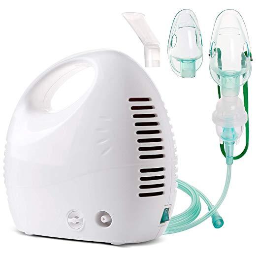 Cool Mist Inhaler Compressor System Machine Quiet