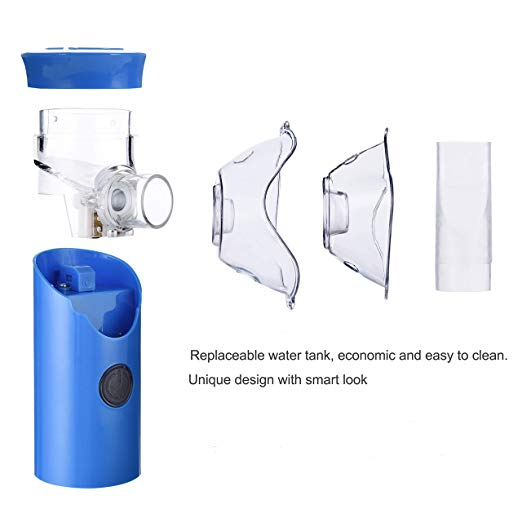 FreePower Blue Handheld Portable Nebulizer 4