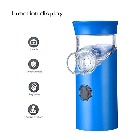 FreePower Blue Handheld Portable Nebulizer