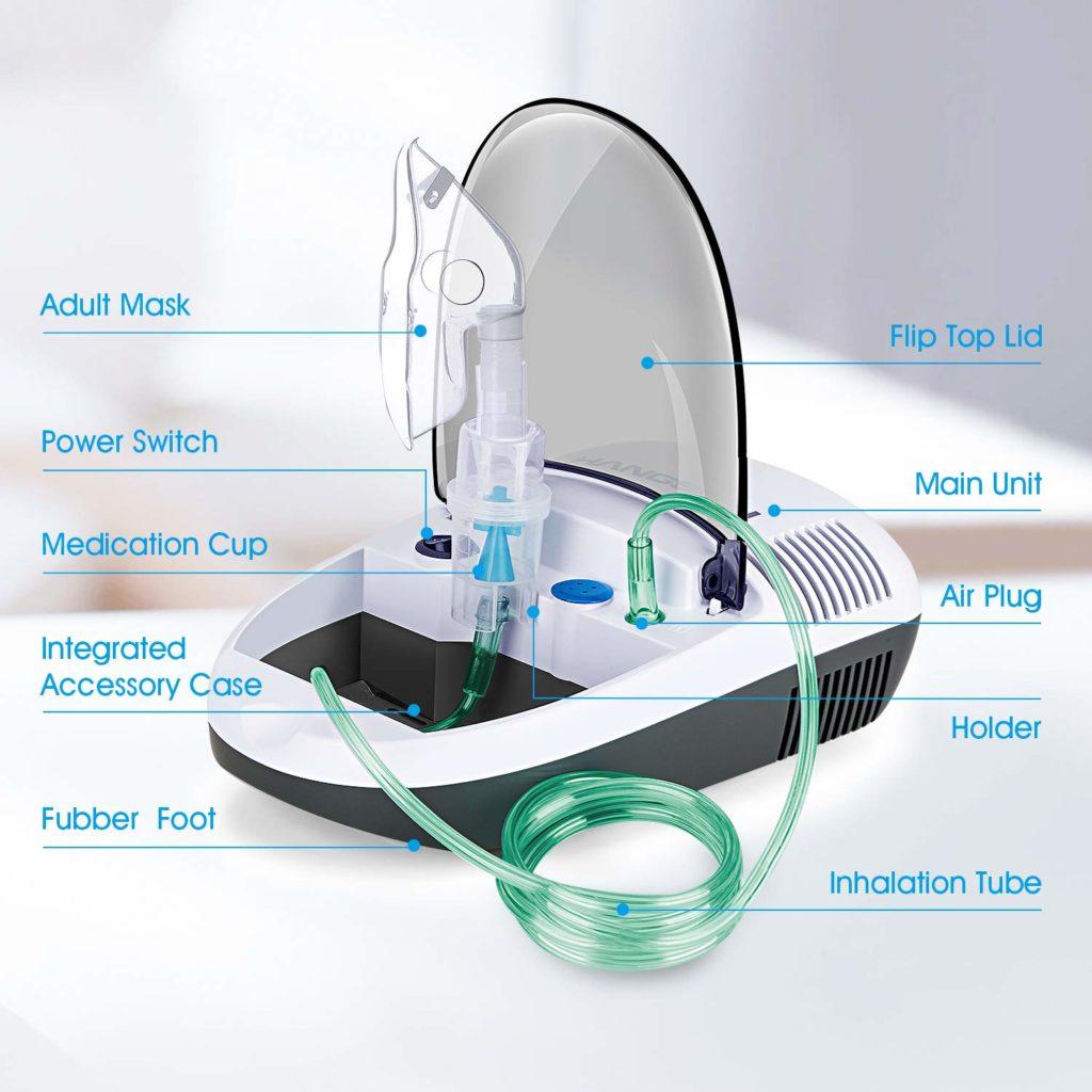 Hangsun Compressor Inhaler Machine CN680 4