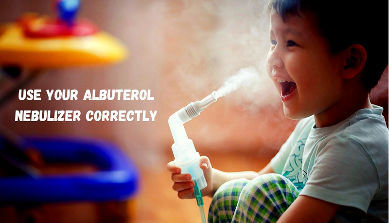 how to use albuterol nebulizer