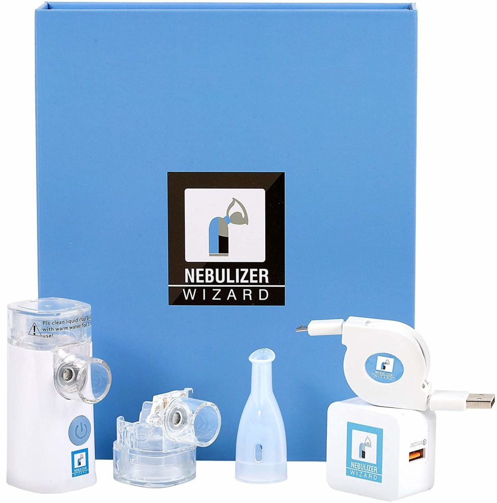 Mayo Clinic Nebulizer Wizard Rechargeable Silent Portable