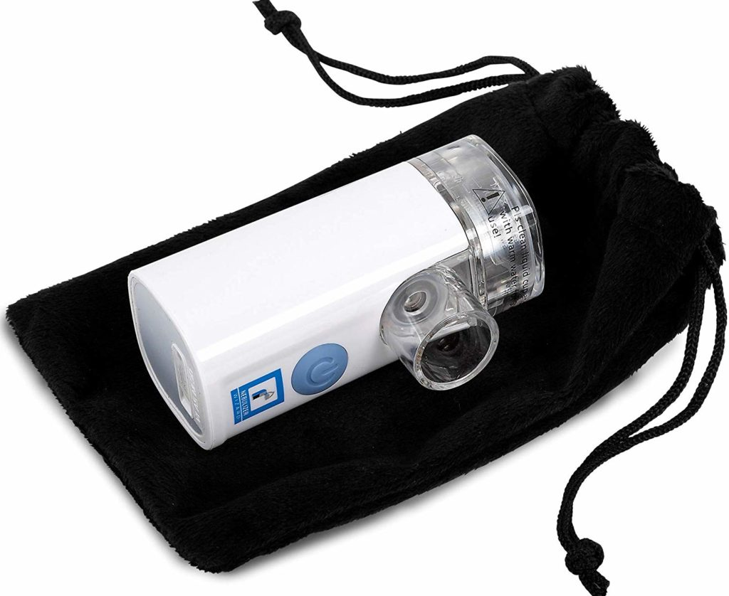 Mayo Clinic Nebulizer Wizard Rechargeable Silent Portable 2