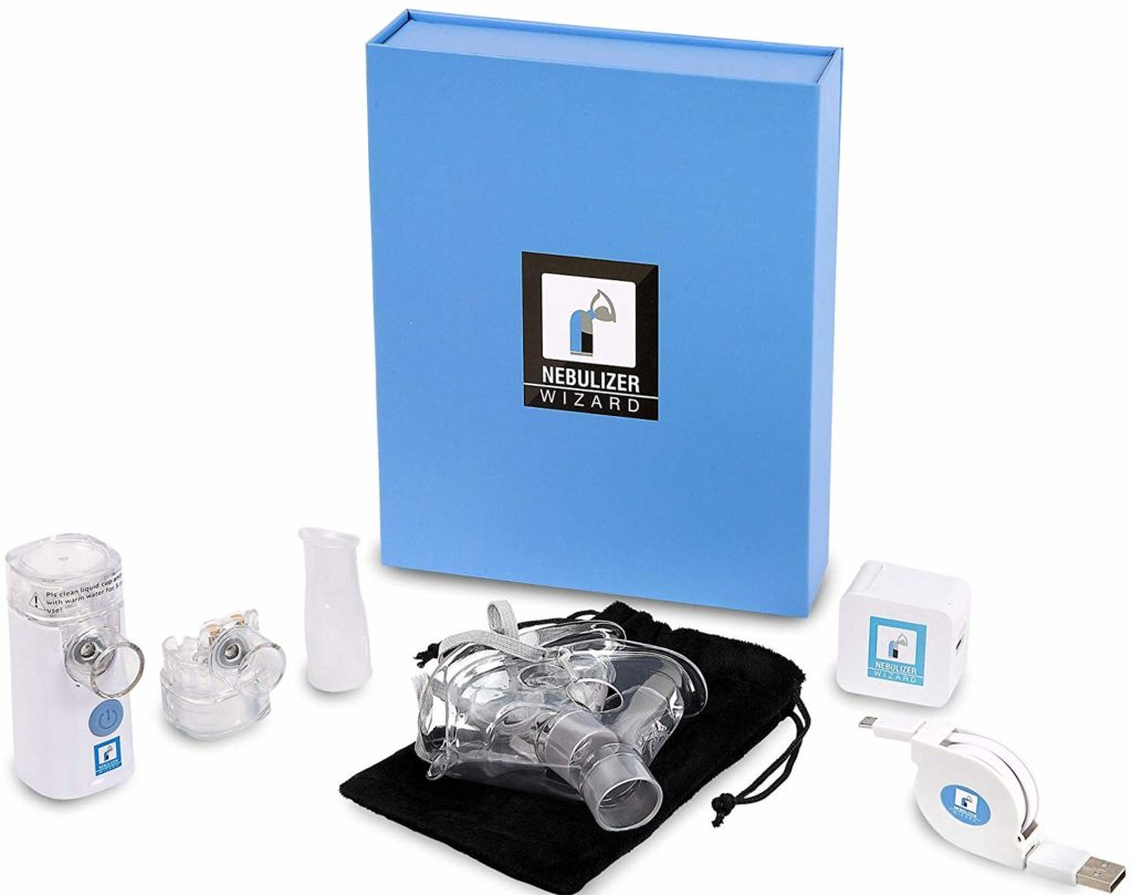 Mayo Clinic Nebulizer Wizard Rechargeable Silent Portable 5