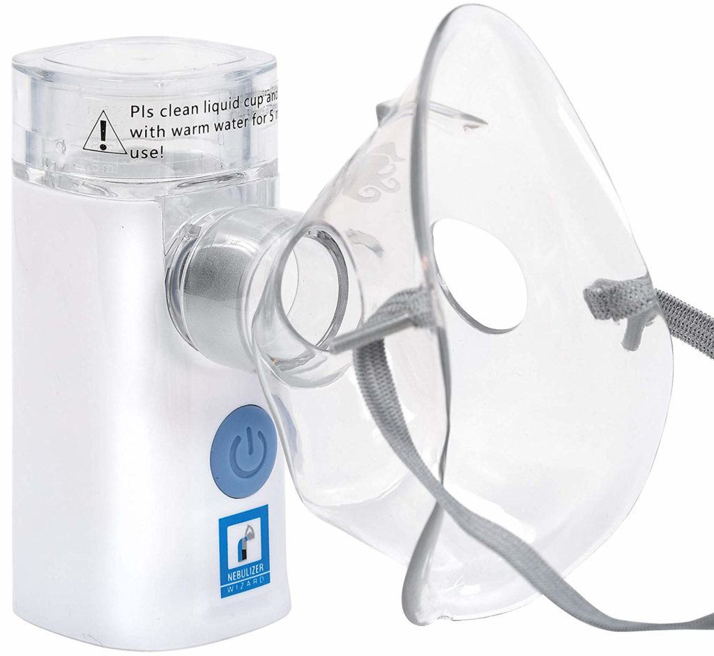 Mayo Clinic Nebulizer Wizard Rechargeable Silent Portable 6