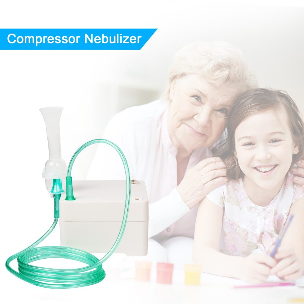NEARTOP Air Compressor Personal Cool Mist Inhaler 3