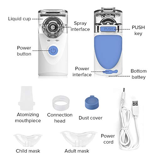 Portable Mini Vaporizers Machine Handheld Cool Mist 6