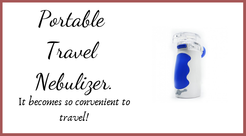 Portable Travel Nebulizer