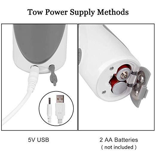SNOW two power supply method
