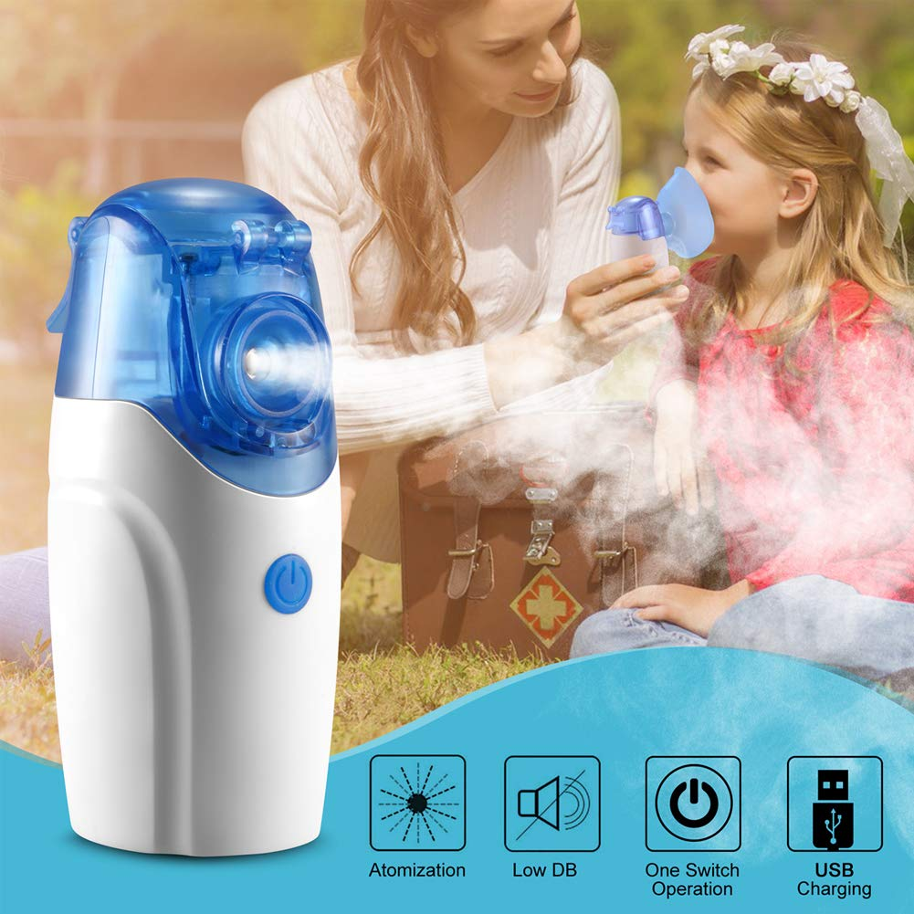 SoulBay Portable Handheld Size Quiet Nebulizer 5