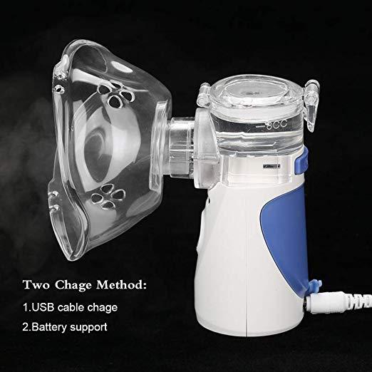 TOPCHANCES Ultrasonic Portable Mini Nebulizer 5