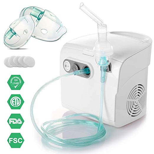 TTstar Personal Compressor System Cool Mist Inhaler
