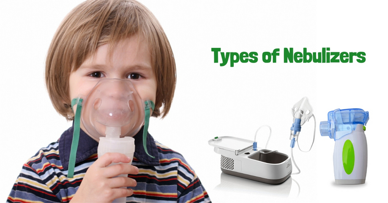 Types of baby nebulizers
