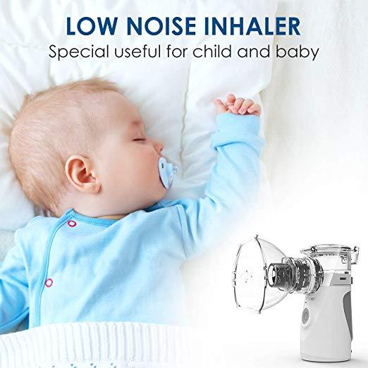 Vosaro Portable Ultrasonic Cool Mist Nebulizer Machine for ...