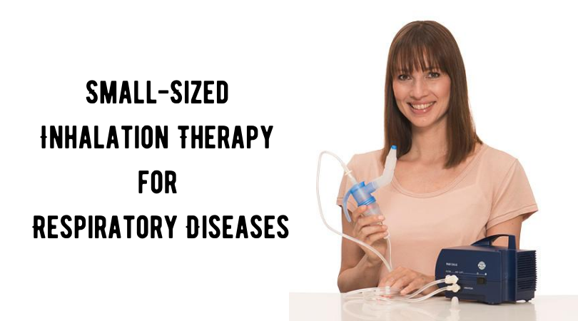Small-Sized Inhalation Therapy for Respiratory Diseases